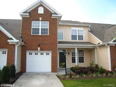 Chesterfield County Rental For Rent: 15140 Watermill Lake Trail
