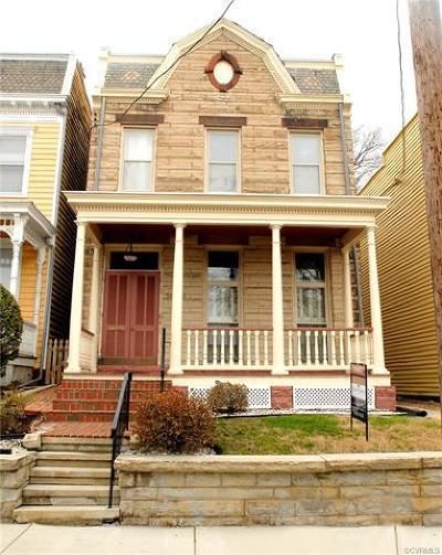 Richmond Single Family Home For Sale: 3310 E Broad Street