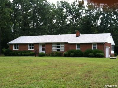 Prince George Single Family Home For Sale: 4501 Courthouse Road