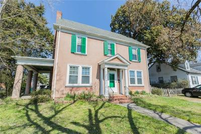 Henrico Single Family Home For Sale: 1304 Apperson Street
