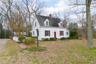 Petersburg Single Family Home For Sale: 5901 River Road