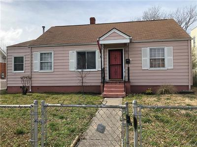 Richmond Single Family Home For Sale: 1802 4th Avenue