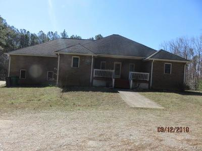Petersburg Single Family Home For Sale: 7429 River Road