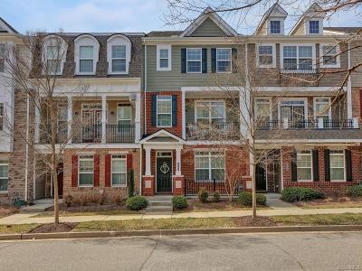 Glen Allen Condo/Townhouse For Sale: 3945 Redbud Road