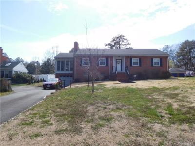 Henrico Single Family Home For Sale: 8115 Michael Road