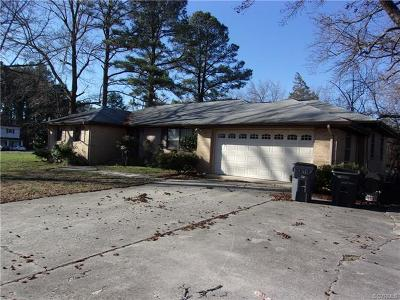 Petersburg Single Family Home For Sale: 20412 Woodpecker Road