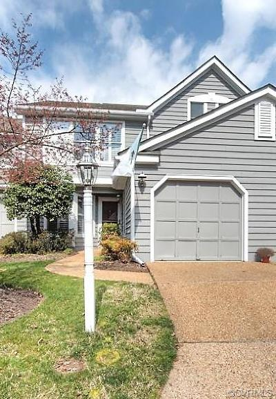 Henrico Condo/Townhouse For Sale: 12003 Foxfield Circle