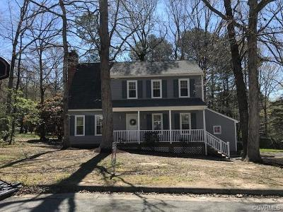 Richmond Single Family Home For Sale: 9601 Ladue Road