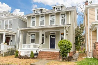 Richmond Single Family Home For Sale: 3120 North Avenue