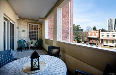 Richmond Condo/Townhouse For Sale: 215 N 19th Street #U23