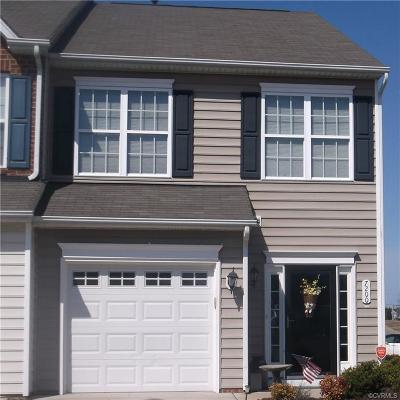 Hanover County Condo/Townhouse For Sale: 7200 Jackson Arch Drive