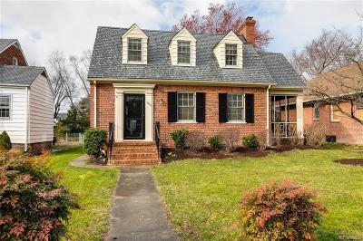 Richmond Single Family Home For Sale: 1804 Maple Shade Lane
