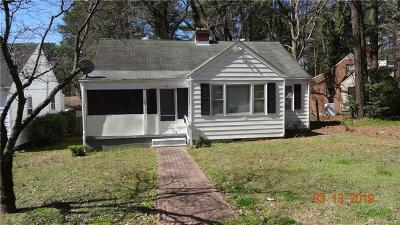 Single Family Home For Sale: 2104 Jackson Court