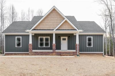 Goochland Single Family Home For Sale: 2389 Chapel Hill Road