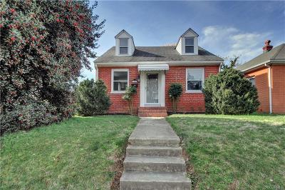 Richmond Single Family Home For Sale: 3201 Rosewood Avenue