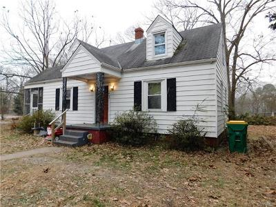 Hopewell Single Family Home For Sale: 1408 Liberty Avenue