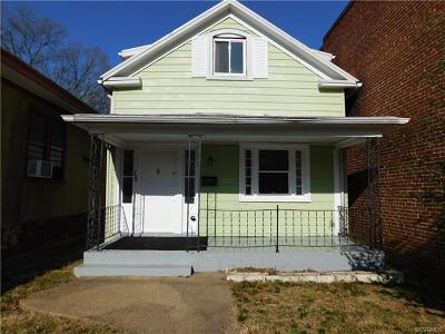 Richmond Single Family Home For Sale: 526 Arnold Avenue