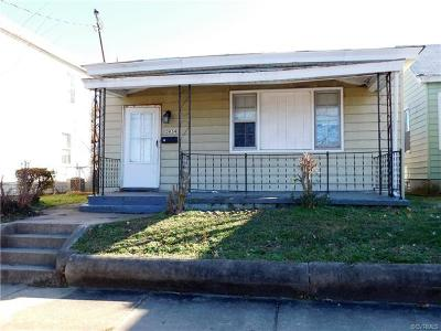 Richmond Single Family Home For Sale: 3054 Lawson Street