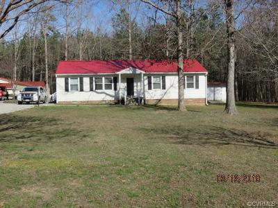 Chester Single Family Home For Sale: 14901 N Ivey Mill Road