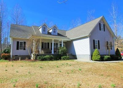 Powhatan County Single Family Home For Sale: 4499 Anderson Highway