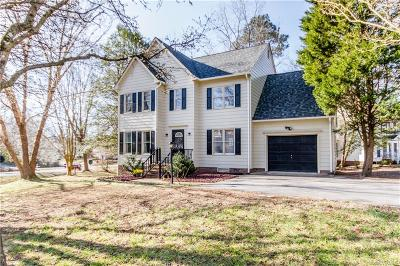 Dinwiddie Single Family Home For Sale: 6201 Oakbrook Lane