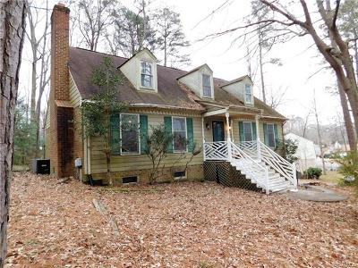 Chester Single Family Home For Sale: 12813 Middlebrook Road