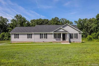 King William County Single Family Home For Sale: Locust Hill Road
