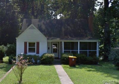 Petersburg Single Family Home For Sale: 1960 Matoax Avenue