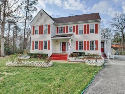 Chesterfield County Single Family Home For Sale: 4305 Windy Oaks Lane