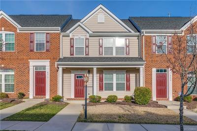 Hanover County Condo/Townhouse For Sale: 8313 Creekside Meadow Way