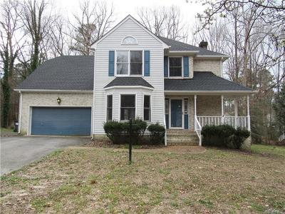 Chester Single Family Home For Sale: 7903 Pleasant Pond Lane