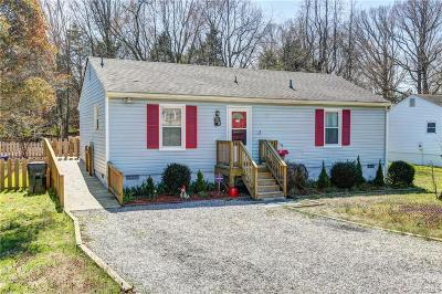 Richmond Single Family Home For Sale: 10613 W Providence Road