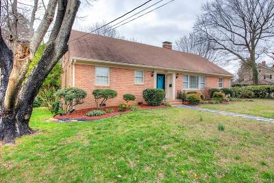 Petersburg Single Family Home For Sale: 1709 Wilton Road