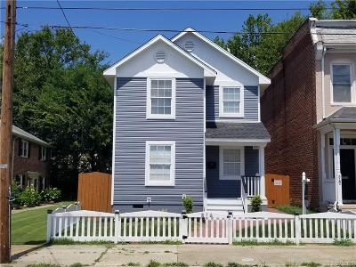 Richmond Single Family Home For Sale: 516 N 30th Street