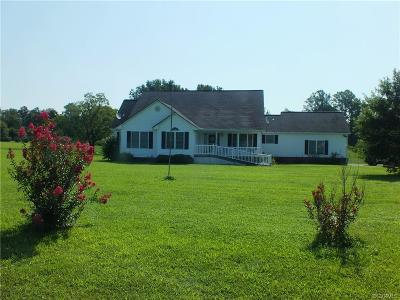 Dinwiddie County Single Family Home For Sale: 11375 Shannon Drive