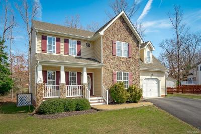 Chester Single Family Home For Sale: 5601 Qualla Farms Place
