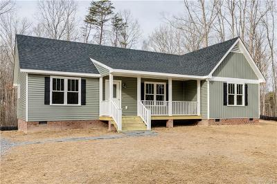 Powhatan Single Family Home For Sale: 5365 Old Buckingham Road
