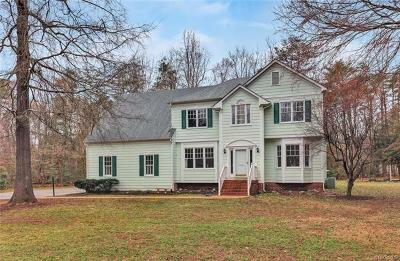 Powhatan County Single Family Home For Sale: 3223 Sherwood Ridge Drive
