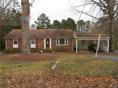 Chester Single Family Home For Sale: 3411 Sylvania Road