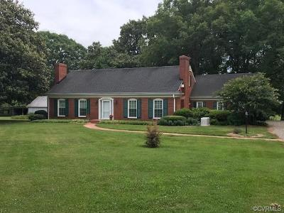 Powhatan County Single Family Home For Sale: 3825 Little Fighting Creek Road