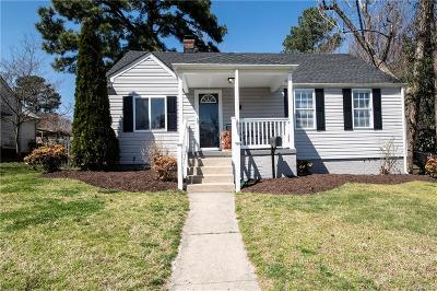 Henrico Single Family Home For Sale: 2404 Bransford Drive