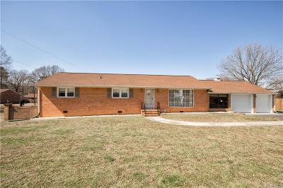 Petersburg Single Family Home For Sale: 6020 Matoaca Road
