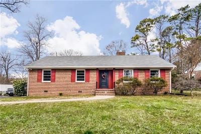 Richmond Single Family Home For Sale: 5900 Shrubbery Hill Road