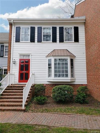 Henrico Condo/Townhouse For Sale: 300 N Ridge Road #34