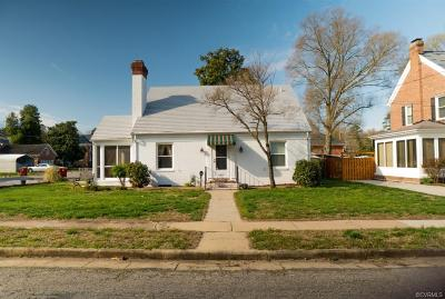 Petersburg Single Family Home For Sale: 1662 Monticello Street
