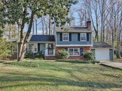 Henrico Single Family Home For Sale: 2325 Timberwood Place