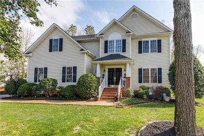 Chesterfield County Single Family Home For Sale: 809 Club Ridge Court