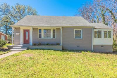 Henrico County Single Family Home For Sale: 4702 Butler Street