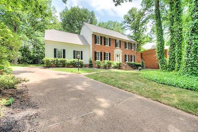 Henrico Single Family Home For Sale: 3121 Chestnut Grove Court