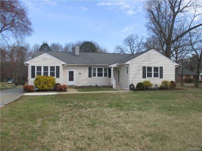 Chesterfield Single Family Home For Sale: 522 Old Bermuda Hundred Road